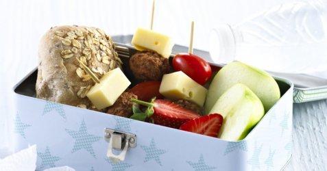 Matboks med kjøttboller oppskrift.