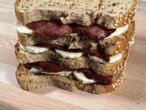 Elvis sandwich oppskrift.