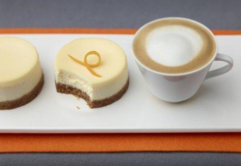 Cheesecake Gluten free & Cappuccino oppskrift.