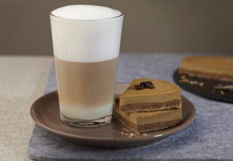 Bilde av Coffee cheesecake & Latte Macchiato.
