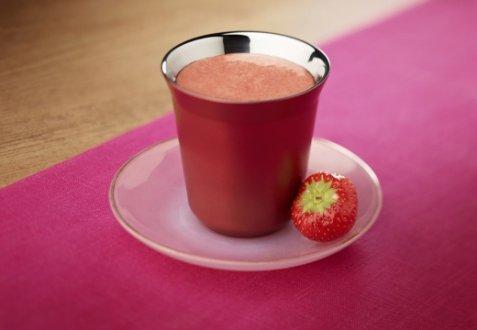 Coffee-Strawberry-Raspberry Smoothie Break oppskrift.
