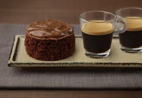 Chocolate coffee cake oppskrift.