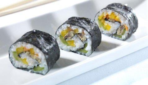 Maki sushi med sardiner oppskrift.