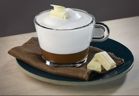 Revised Cappuccino recipe with white chocolate oppskrift.