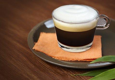 Appelsinblomst-cappuccino oppskrift.