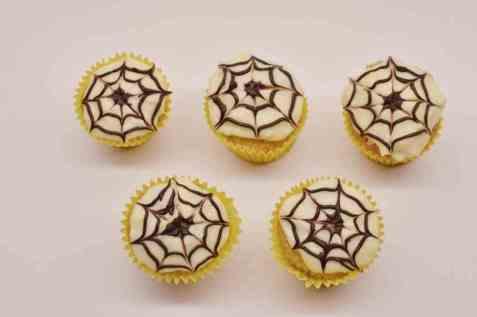 Bilde av Gresskarmuffins til halloween.