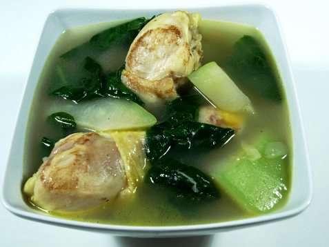 Chicken Tinola oppskrift.