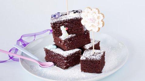 Barnas beste sjokoladekake oppskrift.