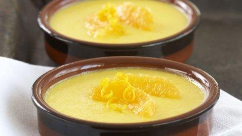 Crema Catalana med smak av appelsin oppskrift.