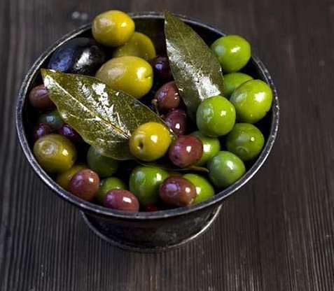 Bilde av Marinerte oliven.