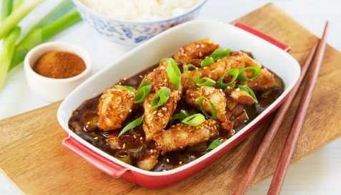 Bilde av Stekt torsk med kinesisk fem-krydder.