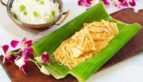 Fiskecurry med kokosmelk oppskrift.
