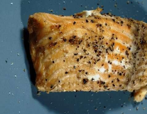 Bilde av Laks med sitronpepper.