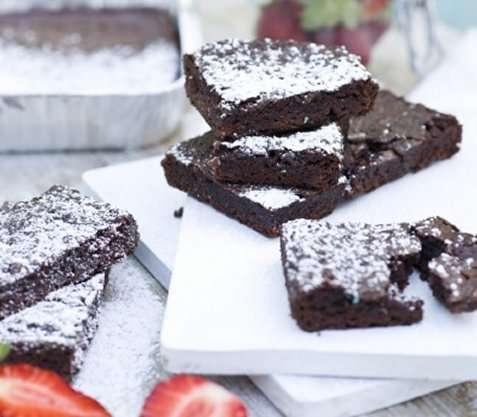 Brownie på grillen oppskrift.