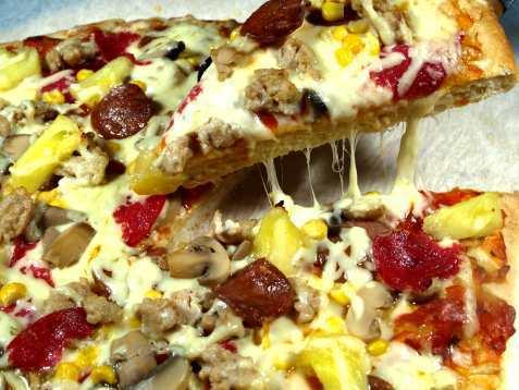 Tuscani pizza oppskrift.