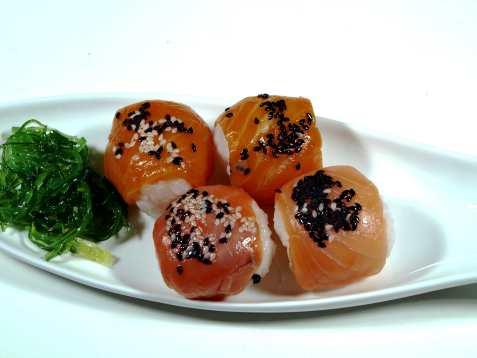 Temari sushi oppskrift.