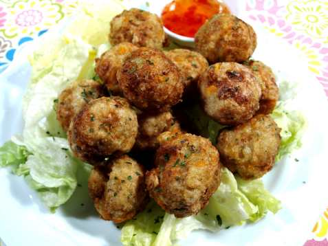 Sweet and sour filipino fishballs oppskrift.