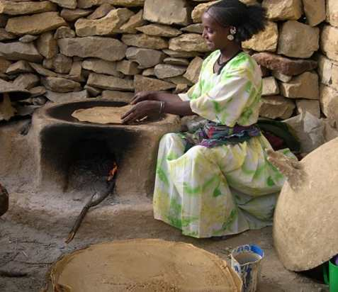 Injerra, etiopisk brød oppskrift.