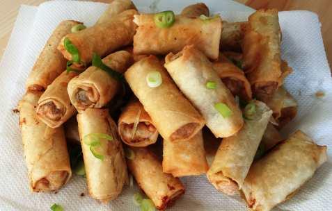 Prøv også Cha gio (Vietnamesiske vårruller).