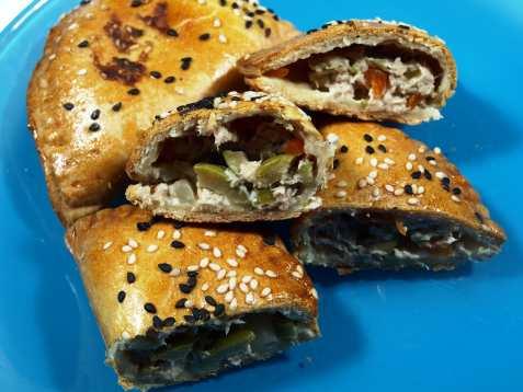 Empanadas med tunfiskfyll oppskrift.