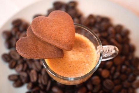 Bilde av Pepperkaker med kaffe.