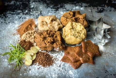 Pepperkaker Xmas cookies oppskrift.