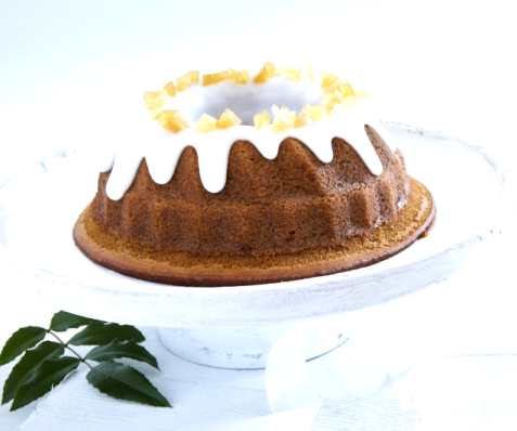 Bilde av Krydderkake med sirup og ingef�r.