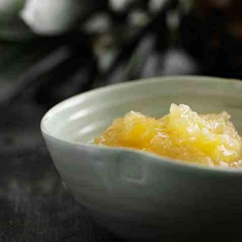 Ananas-kokos-rommarmelade oppskrift.