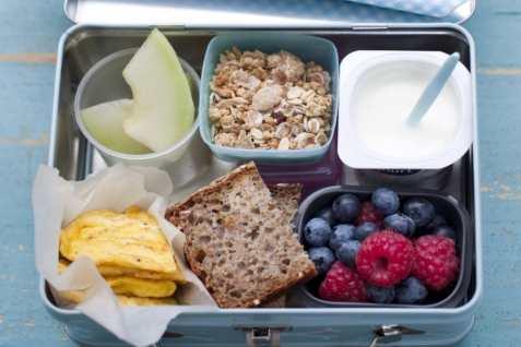 Matpakke til første skoledag oppskrift.
