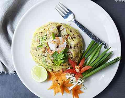 Bilde av Stekte nudler thaistyle (Pad Thai Kung).