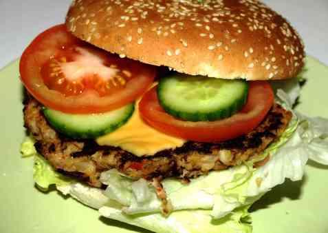 Bilde av Enkle tunfisk burgere.