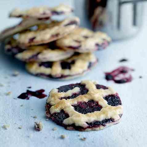 Blueberry Pie Cookies oppskrift.