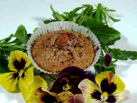 Nutella muffins oppskrift.
