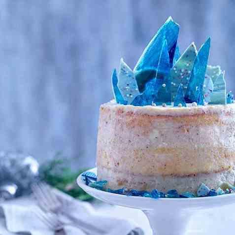 Naked Frozen Cake oppskrift.