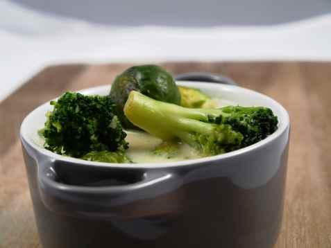 Sellerisuppe med brokkoli oppskrift.