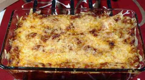 Bilde av Roses spesial lasagne.