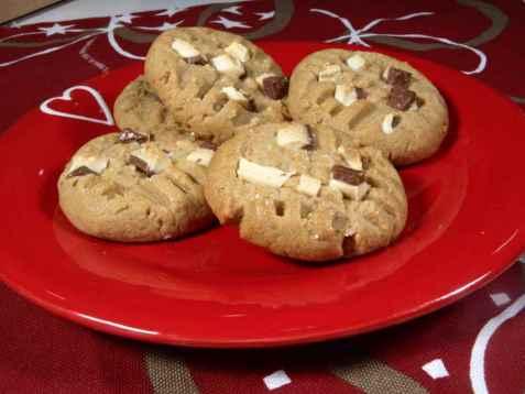 Peanut butter cookies oppskrift.