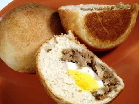 Baked Siopao Asado (Pork Bun) oppskrift.