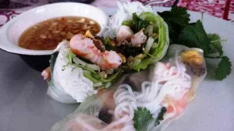 Fersk vårrull fra Cambodia oppskrift.