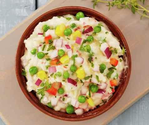 Bilde av Fargerik potetstappe.