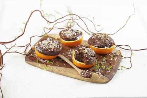 Sjokoladekake i appelsiner oppskrift.