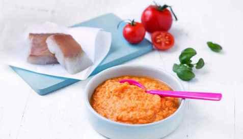 Barnas sei med tomat oppskrift.