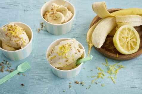 Bananis med sitron oppskrift.