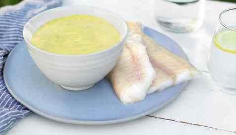 Bilde av Tandoorimarinade til fisk.
