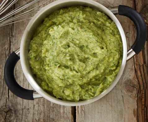 Mos med brokkoli oppskrift.