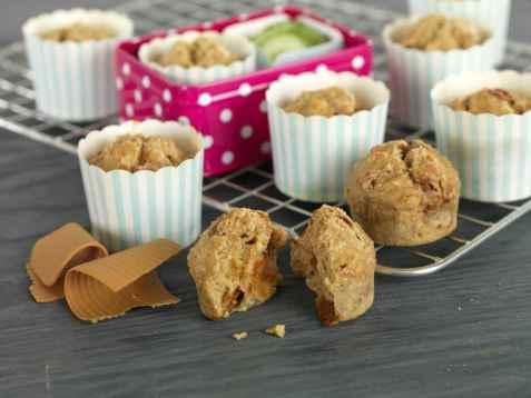 Bilde av Matpakkemuffins med brunost.
