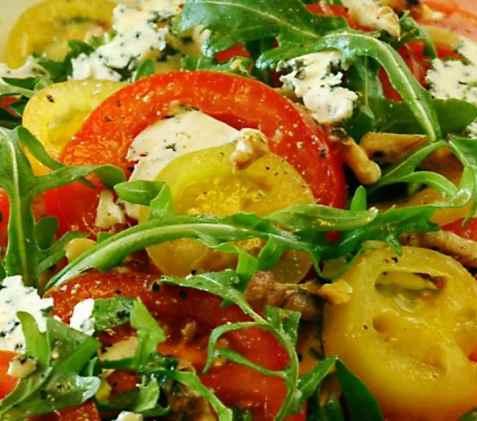 Bilde av Annas tomatspesial.