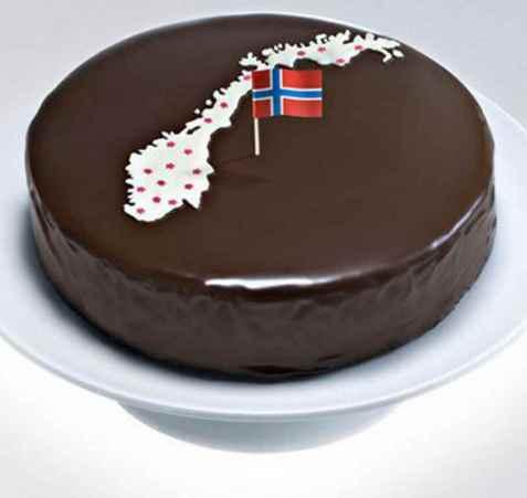 Norgeskaken oppskrift.