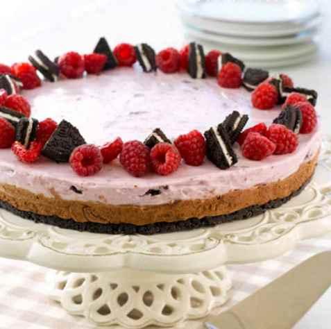 Dessertkake til 17 mai oppskrift.