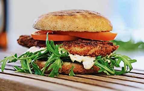 Bilde av The OMG burger.